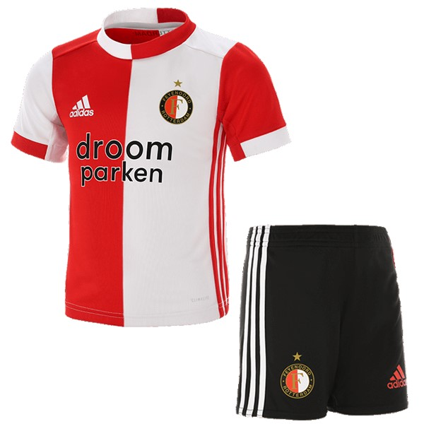 Maillot Foot Pas Cher Feyenoord Rotterdam Domicile Enfant 2019/2020 Rouge