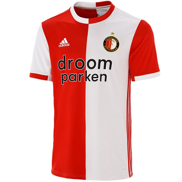 Maillot Foot Pas Cher Feyenoord Rotterdam Domicile 2019/2020 Rouge