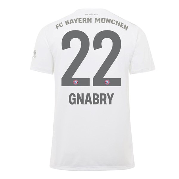 Maillot Foot Pas Cher Bayern Munich NO.22 Gnabry Domicile 2019/2020 Rouge