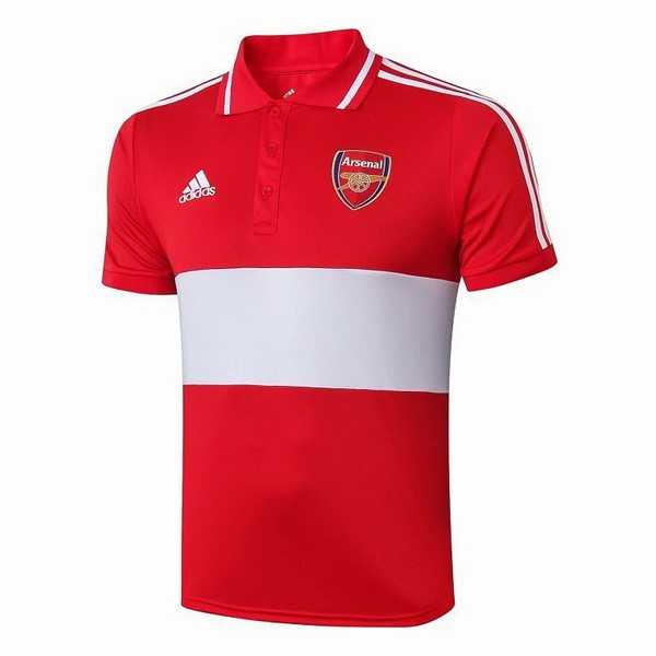 Polo Arsenal 2019/2020 Rouge Gris