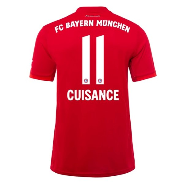 Maillot Foot Pas Cher Bayern Munich NO.11 Cuisance Domicile 2019/2020 Rouge