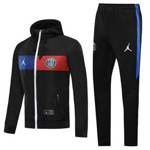 Coupe Vent Paris Saint Germain JORDAN Ensemble Complet 2020/2021 Rouge Bleu Noir