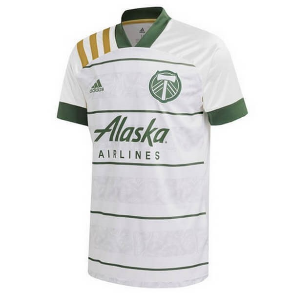 Thailande Maillot Foot Pas Cher Portland Timbers Exterieur 2020/2021 Blanc
