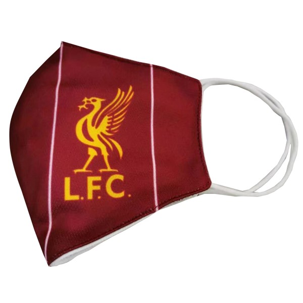 Masque Football Liverpool Serviette Rouge