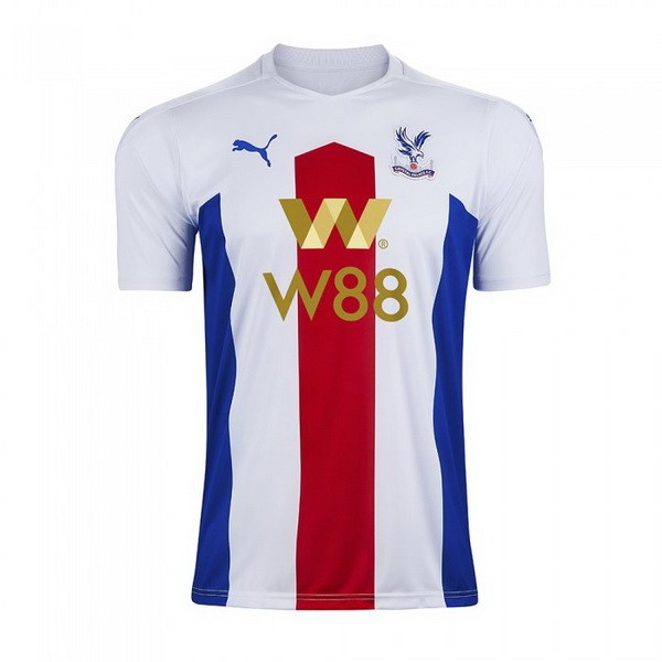 Thailande Maillot Foot Pas Cher Crystal Palace Exterieur 2020/2021 Blanc