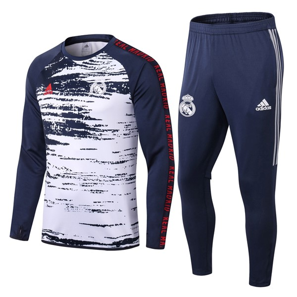 Survetement Real Madrid 2020/2021 Bleu Blanc
