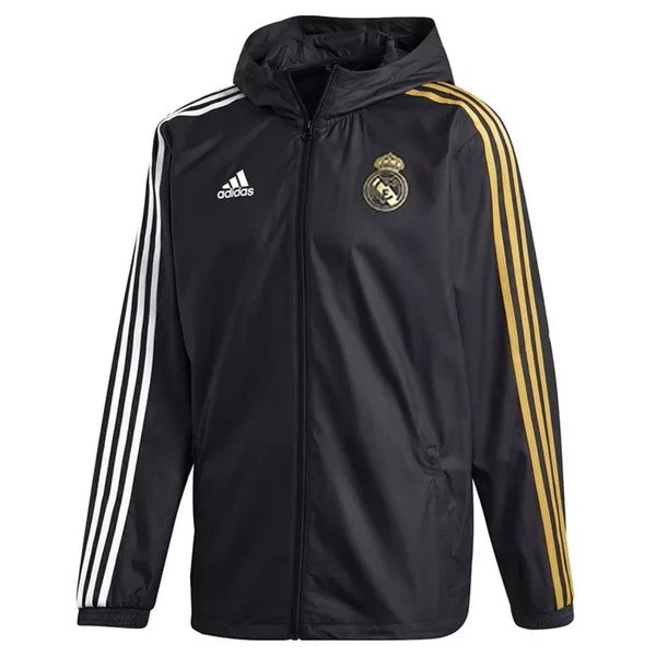 Coupe Vent Real Madrid 2020/2021 Noir Jaune