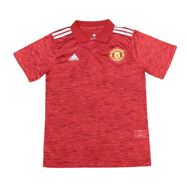 Polo Manchester United 2020/2021 Rouge