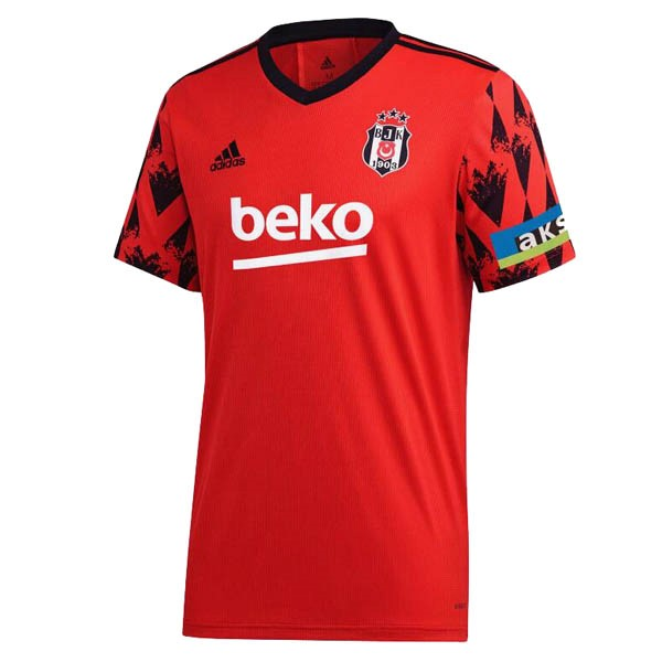 Thailande Maillot Foot Pas Cher Besiktas Third 2020/2021 Rouge