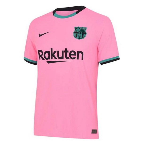 Maillot Foot Pas Cher Barcelona Third 2020/2021 Rose
