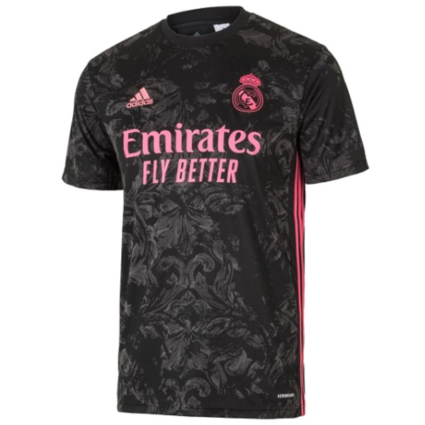 Maillot Foot Pas Cher Real Madrid Third 2020/2021 Noir