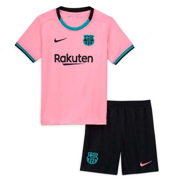 Maillot Foot Pas Cher Barcelona Third Enfant 2020/2021 Rose