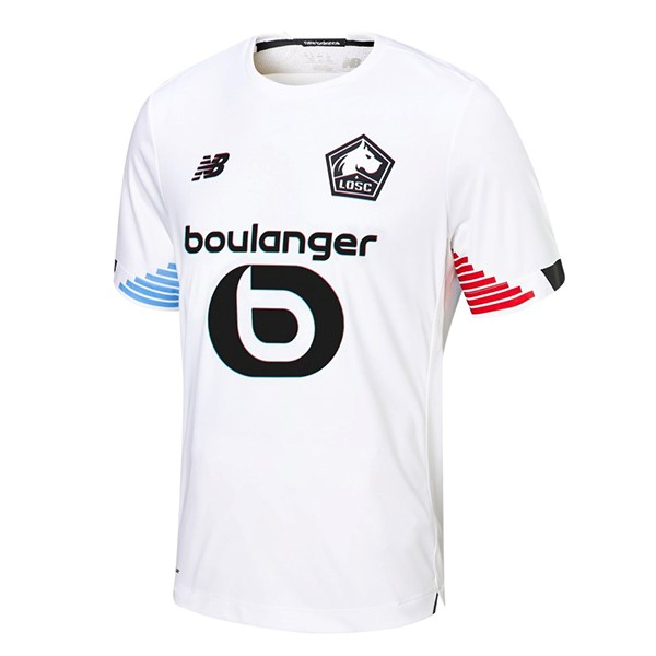 Thailande Maillot Foot Pas Cher Lille Third 2020/2021 Blanc