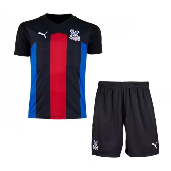 Maillot Foot Pas Cher Crystal Palace Third Enfant 2020/2021 Noir
