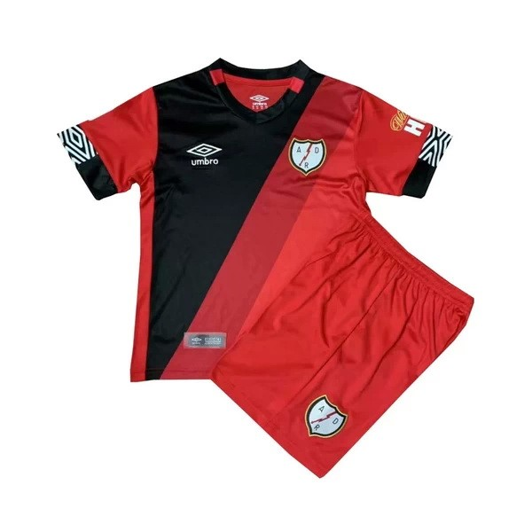 Maillot Foot Pas Cher Rayo Vallecano Third Enfant 2020/2021 Rouge
