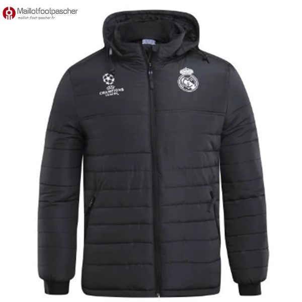 Veste Foot Pas Cher Real Madrid 2017/2018 Down Noir