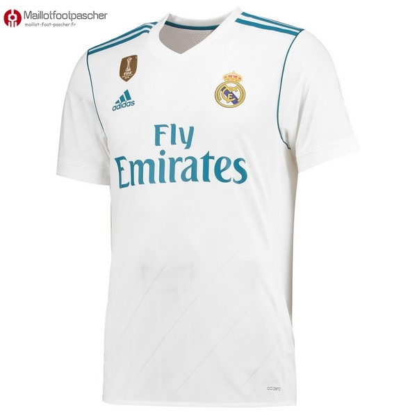 Thailande Maillot Foot Pas Cher Real Madrid Domicile 2017/2018