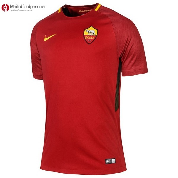 Maillot Foot Pas Cher AS Roma Domicile 2017/2018