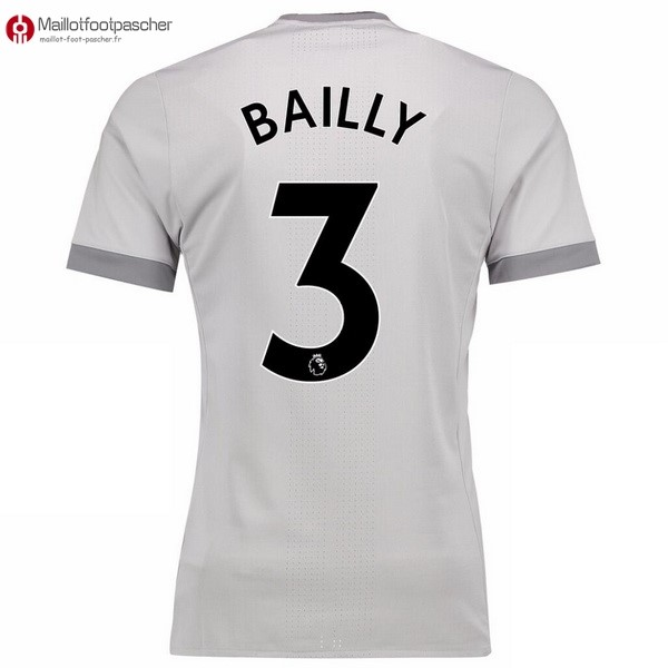 Maillot Foot Pas Cher Manchester United Third Bailly 2017/2018