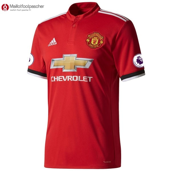 Maillot Foot Pas Cher Manchester United Domicile 2017/2018