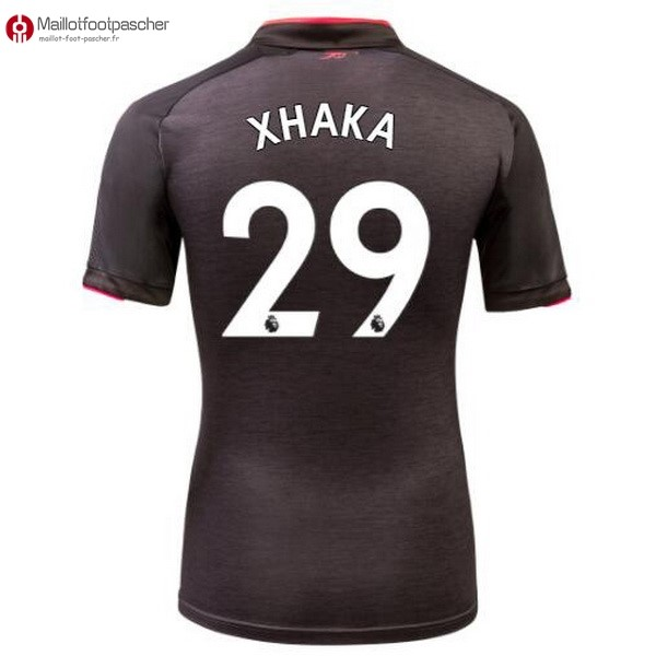 Maillot Foot Pas Cher Arsenal Third Xhaka 2017/2018
