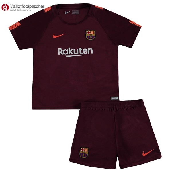 Maillot Foot Pas Cher Barcelona Enfant Third 2017/2018
