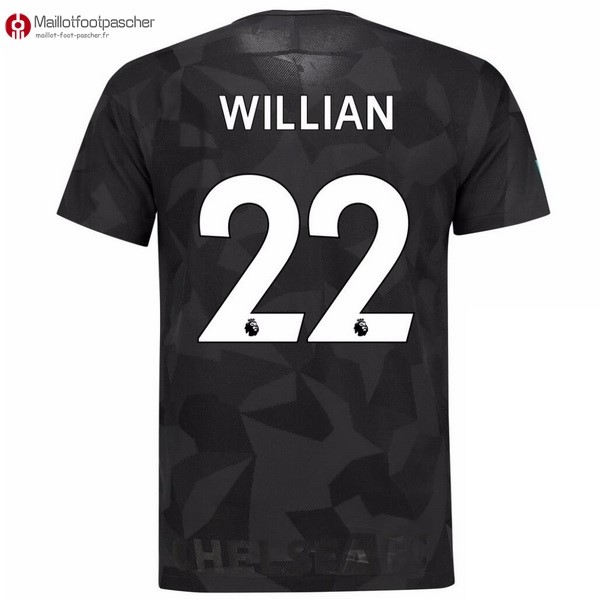 Maillot Foot Pas Cher Chelsea Third Willian 2017/2018