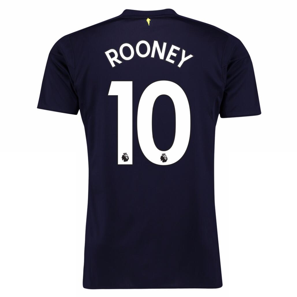 Maillot Foot Pas Cher Everton Third Rooney 2017/2018
