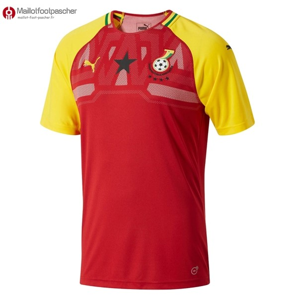 Maillot Foot Pas Cher Ghana Domicile 2018 Rouge