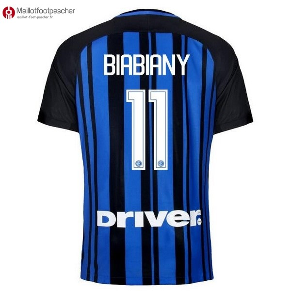 Maillot Foot Pas Cher Inter Domicile Biabiany 2017/2018
