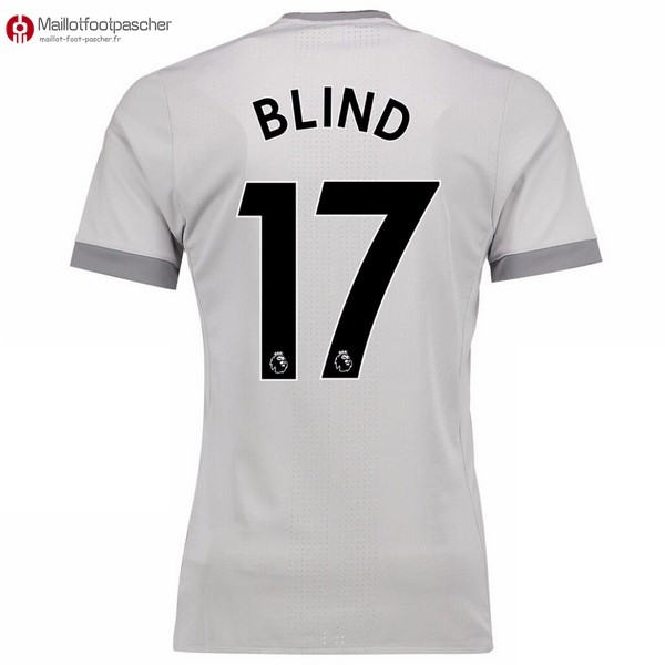 Maillot Foot Pas Cher Manchester United Third Blind 2017/2018