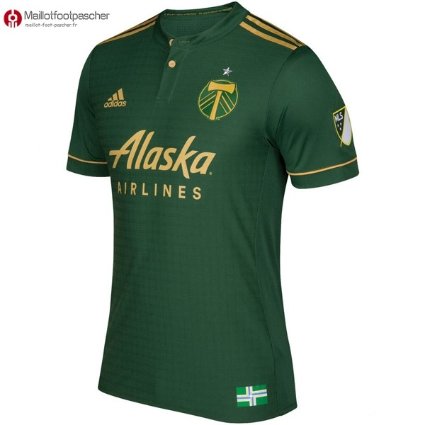 Maillot Foot Pas Cher Portland Timbers Domicile 2017/2018