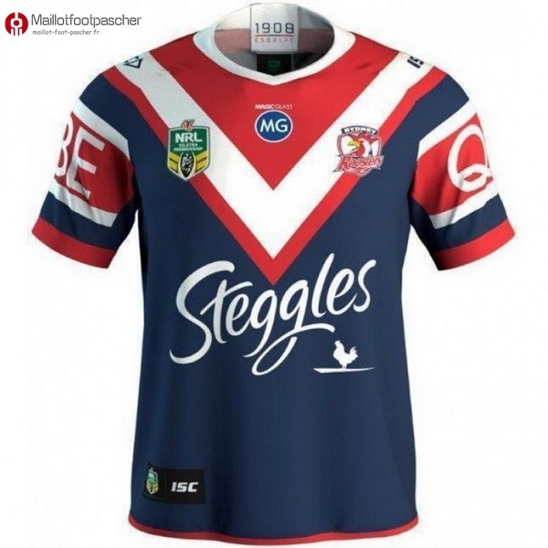 Maillot Rugby Pas Cher Sydney Roosters Domicile 2018 Bleu
