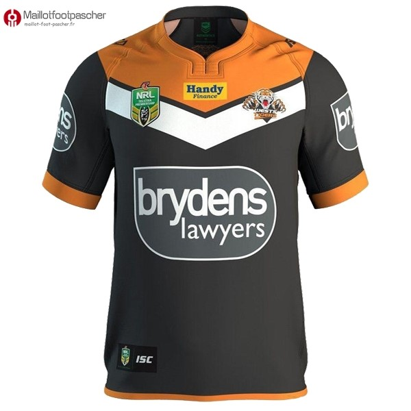 Maillot Rugby Pas Cher Wests Tigers NRL Domicile 16/17
