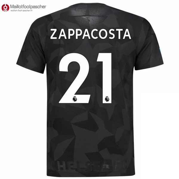 Maillot Foot Pas Cher Chelsea Third Zappacosta 2017/2018