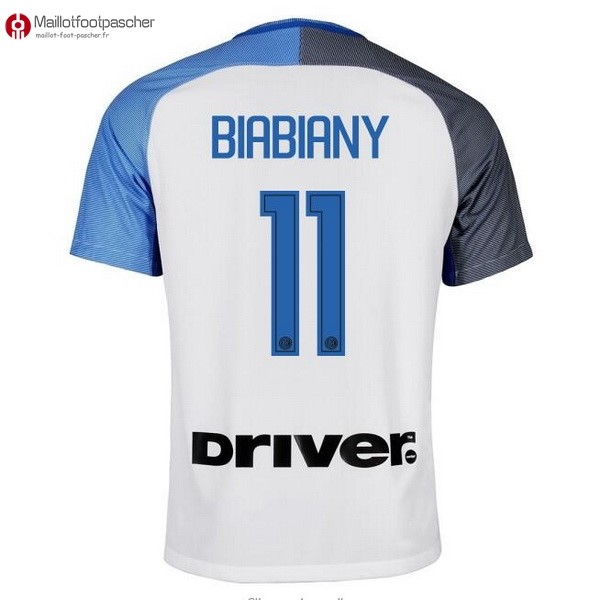 Maillot Foot Pas Cher Inter Exterieur Biabiany 2017/2018