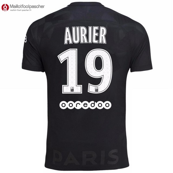 Maillot Foot Pas Cher Paris Saint Germain Third Aurier 2017/2018