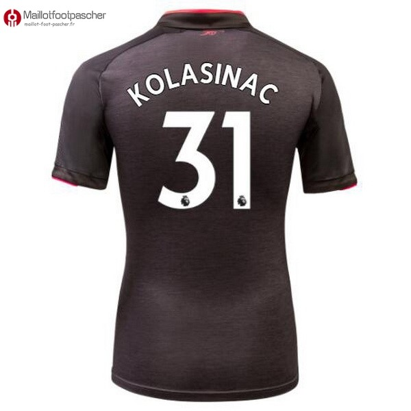 Maillot Foot Pas Cher Arsenal Third Kolasinac 2017/2018