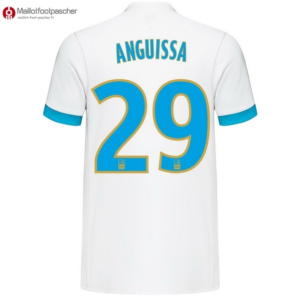 Maillot Foot Pas Cher Marseille Domicile Anguissa 2017/2018