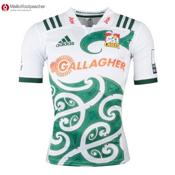 Maillot Rugby Pas Cher Chiefs Exterieur 2018 Blanc