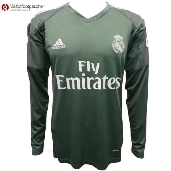 Maillot Foot Pas Cher Real Madrid Domicile ML Gardien 2017/2018