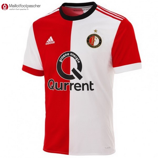 Maillot Foot Pas Cher Feyenoord Rotterdam Domicile 2017/2018