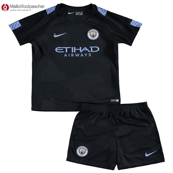Maillot Foot Pas Cher Manchester City Enfant Third 2017/2018
