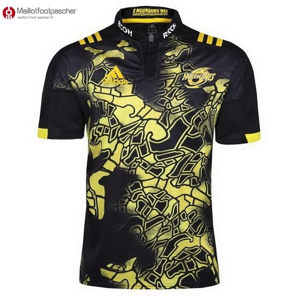 Maillot Rugby Pas Cher Hurricanes 2017/2018 Noir