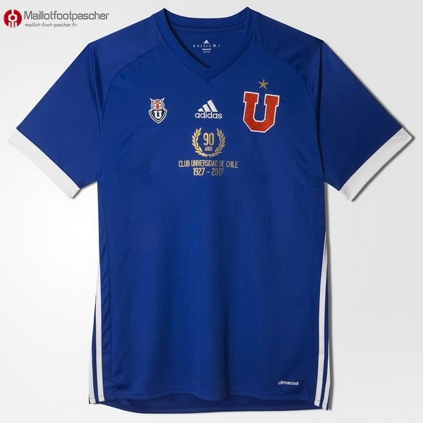 Maillot Foot Pas Cher Universidad De Chili Domicile 90th 1927-2017