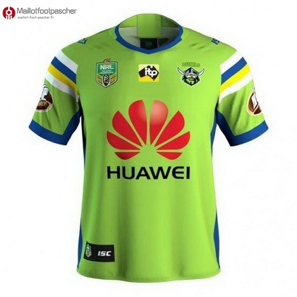 Maillot Rugby Pas Cher Canberra Raiders Domicile 2018 Vert