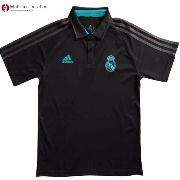 Polo Foot Pas Cher Real Madrid 2017/2018 Noir