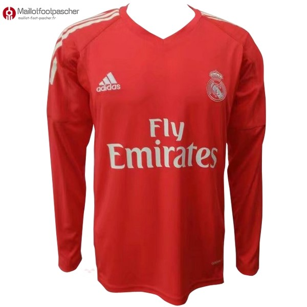 Maillot Foot Pas Cher Real Madrid Exterieur ML Gardien 2017/2018