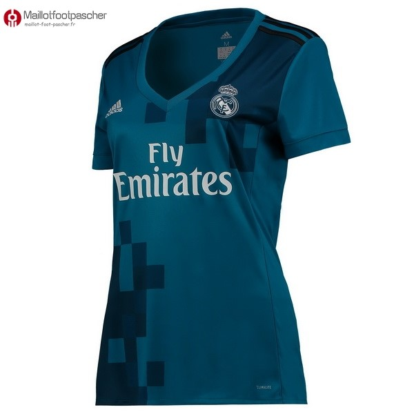 Maillot Foot Pas Cher Real Madrid Femme Third 2017/2018