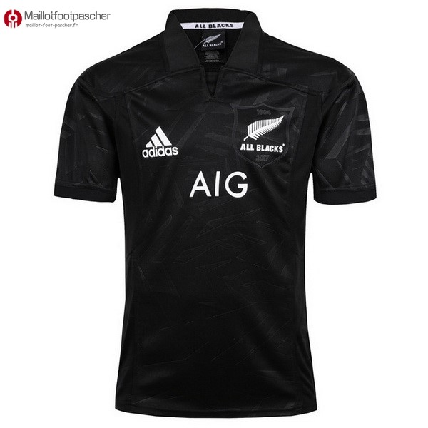 Maillot Rugby Pas Cher All Blacks 2017/2018 Noir